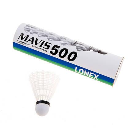 Воланы Mavis Lonex 500 ML500-WH, фото 2