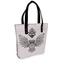 Женская сумка Bigbag с принтом Сова