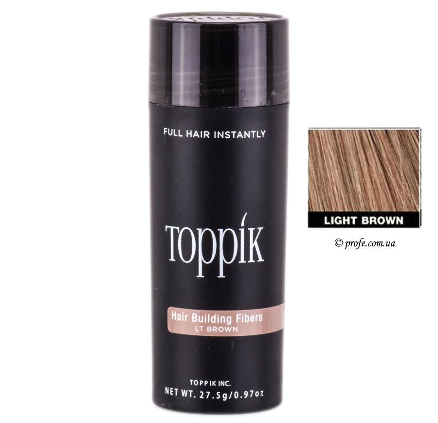 Загуститель Волос Toppik Большой 27,5 г light brown (светло-коричневый)