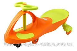 Детская машинка Smart Сar NEW ORANGE+GREEN