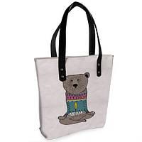Женская сумка Bigbag с принтом Медведь
