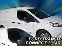 Дефлекторы окон (ветровики) вставные HEKO на Форд Конект с 2013> (Польша) 2-штуки.
