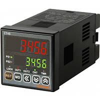 Счетчик импульсов/таймер две уставки CT4S2P2 24 VDC