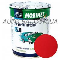 Автоэмаль двухкомпонентная автокраска акриловая (2К) 110 Рубин Mobihel, 0,75 л