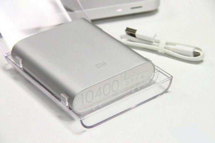 Внешний аккумулятор зарядка универсальная Power Bank XiaoMi 10400mAh Павер банк + бокс 4