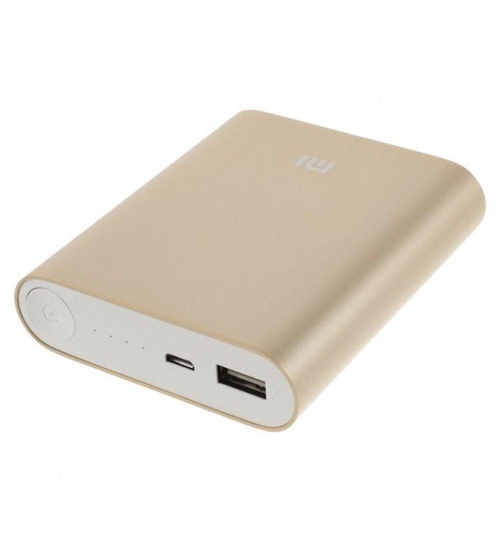 Внешний аккумулятор зарядка универсальная Power Bank XiaoMi 10400mAh Павер банк + бокс 5
