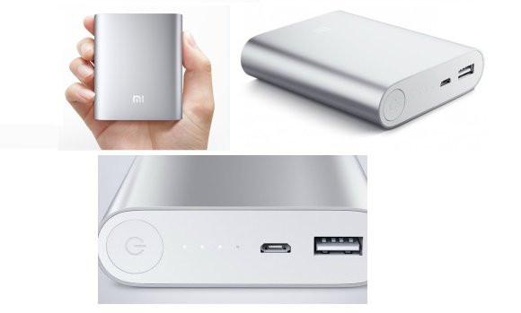 Внешний аккумулятор зарядка универсальная Power Bank XiaoMi 10400mAh Павер банк + бокс 6