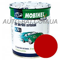 Автоэмаль двухкомпонентная автокраска акриловая (2К) 112 Гран-при Mobihel, 0,75 л