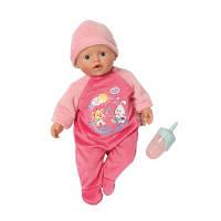 Кукла MY LITTLE BABY BORN ПЕРВОЕ КУПАНИЕ 32 см пьет мочит подгузник Zapf 822500