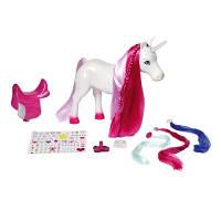 Интерактивная лошадка для куклы BABY BORN ЕДИНОРОГ свет звук Zapf 820711