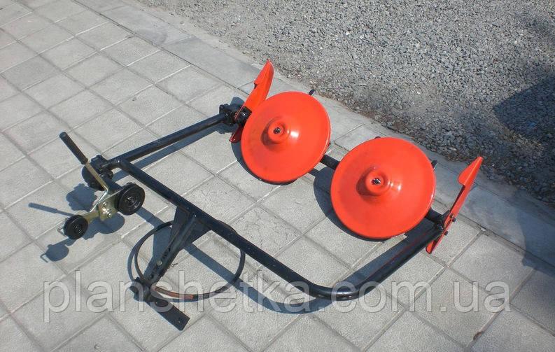 Косилка роторная ременная КР-01 ШИП кованые ножи без ремня (для МБ с водяным охлаждением)