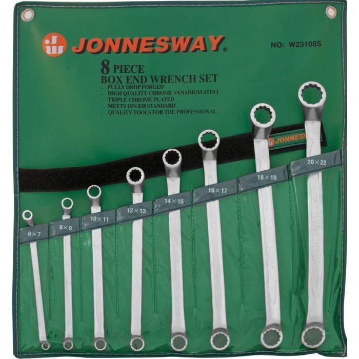 Набор ключей накидных 8шт JONNESWAY W23108S