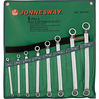 Набор ключей накидных JONNESWAY W23108S 8шт.