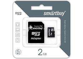 Карта памяти Smartbuy MicroSD 2 Gb Smartbuy
