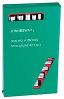 Набор угловых ключей JONNESWAY H15M105S SPLINE М-профиль 5 шт.