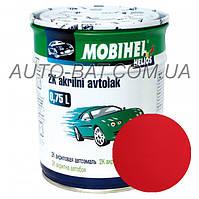 Автоэмаль двухкомпонентная автокраска акриловая (2К) 170 Торнадо Mobihel, 0,75 л