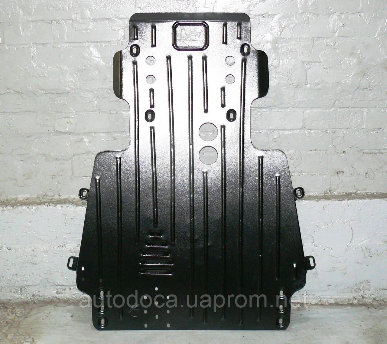 Защита картера двигателя и кпп Toyota Land Cruiser 100 1997-