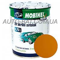 Автоэмаль двухкомпонентная автокраска акриловая (2К) 299 Такси Mobihel, 0,75 л