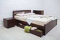 """Кровать из натурального дерева """"Лика Люкс с ящиками"""", фото 1"""