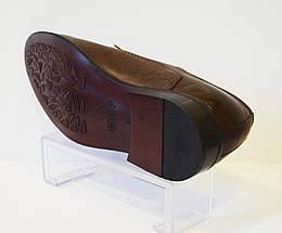 Оксфодры мужские коричневые Sensor 825, фото 3