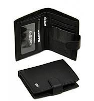 Кошелек Classik кожа dr.Bond M31 black, кошелек маленький,  карманный