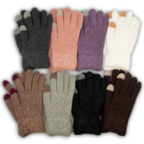 Детские перчатки для девочки c эффектом TOUCH, A6