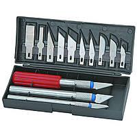 Набор скальпелей 13 pc Precision Knife Set, 3 скальпеля + 10 доп. лезвий