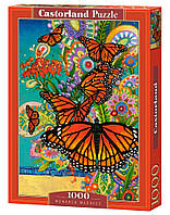 Пазлы Бабочки Монархи 1000 элементов Castorland
