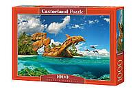 Пазлы Дельфиний рай 1000 элементов Castorland