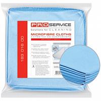 Набор салфеток микрофибра для стекол 35х35 (5шт/уп)
