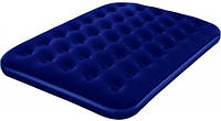Матрас Flocked Air Bed/ Queen 203 x 152 x 22 см, электронасос в комплекте Bestway (67473)