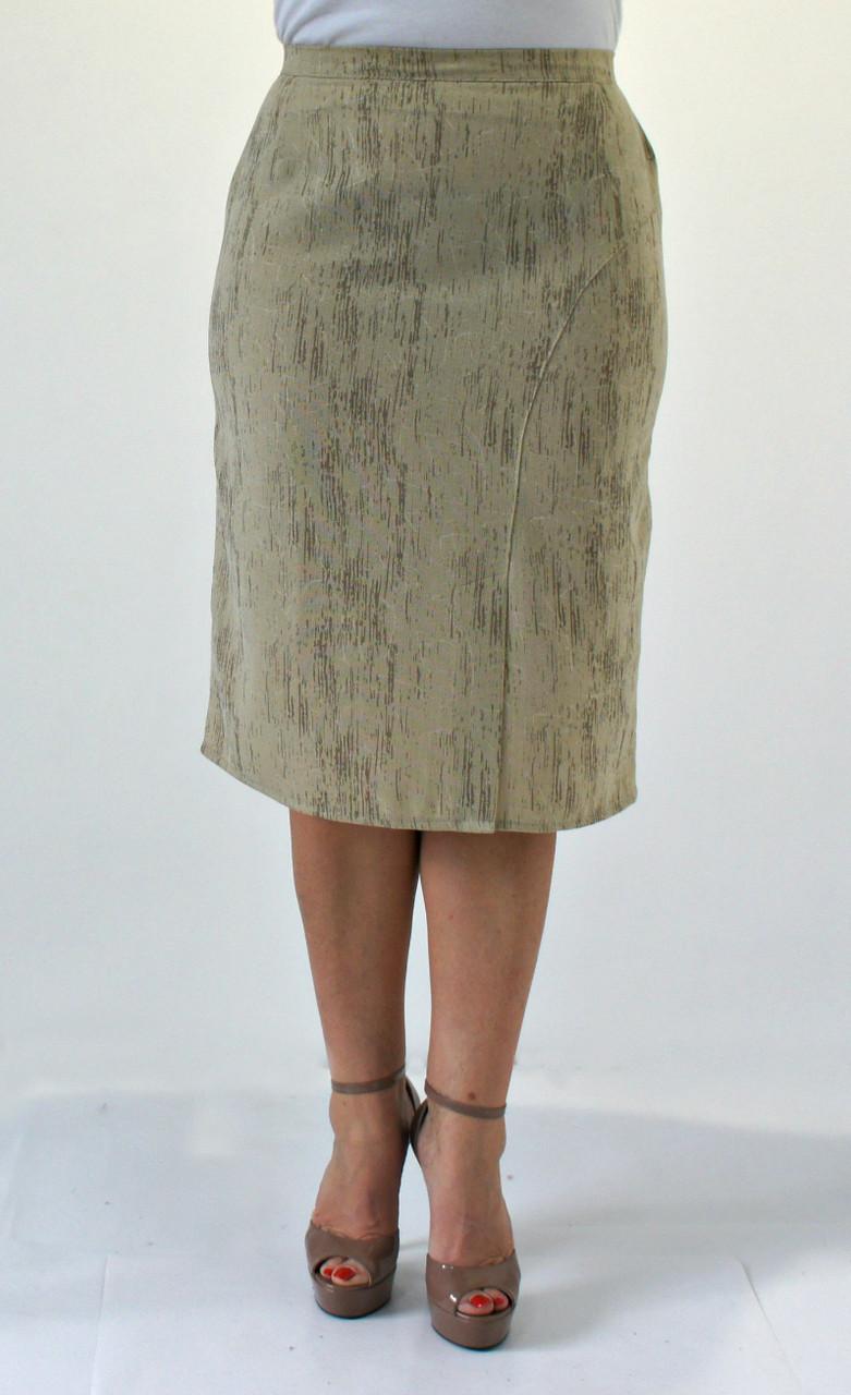 Светлая женская юбка