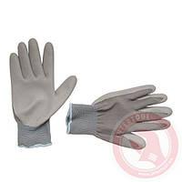 """Перчатки трикотажные с нитриловым покрытием, 10"""" INTERTOOL SP-0122"""