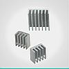 Радиаторы 3pcs/Pack for Raspberry Pi