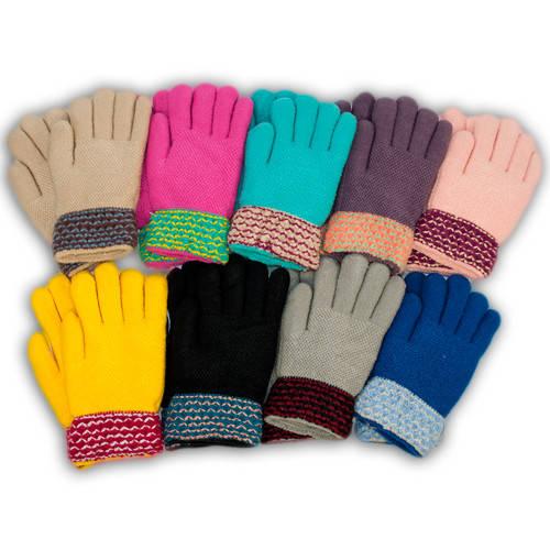 Детские перчатки утепленные, B14
