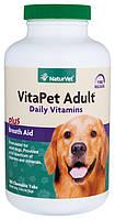 NaturVet VitaPet Adult Daily Vitamins мульти-витамины для собак