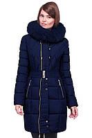 Модная женская зимняя куртка с мехом