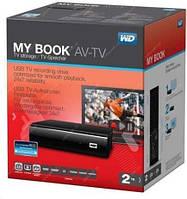 Зовнішній  диск WD My Book AV-TV 2TB