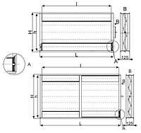 Воздушная заслонка Lessar LV-BDTM 1000x500
