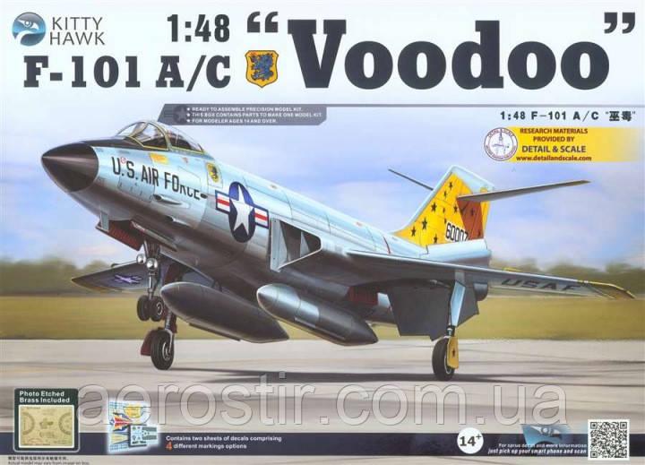 F-101A/C 'Voodoo' 1/48 Kitty Hawk 80115