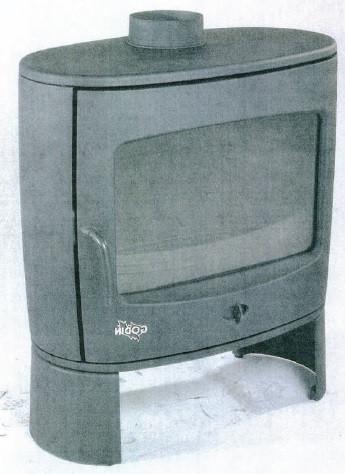 Печь-камин Ovalia (Godin)