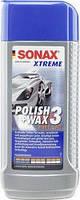 Xtreme Polish+Wax 3 абразивный полироль с воском 3/1 250 мл, SONAX, арт.202100, Днепр