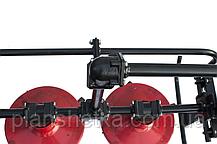 """Косилка роторная КР-09 """"ШИП"""" к мототрактору (с задней стороны), фото 2"""