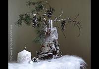 Новогоднее, рождественское оформление интерьеров.