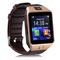 Умные часы Smart Watch DZ09 Gold Edition Копия Apple Watch