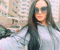 Солнцезащитные женские очки Dior черные