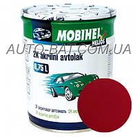 Автоэмаль двухкомпонентная автокраска акриловая (2К) 118 Кармен Mobihel, 0,75 л