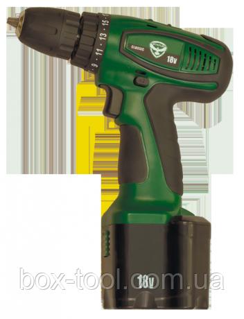 Аккумуляторная дрель-шуруповерт STATUS CT18