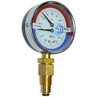 Термоманометр радиальный ДМТ 05080: пружинный, 400 кПа, защита ІР53, 120 °C