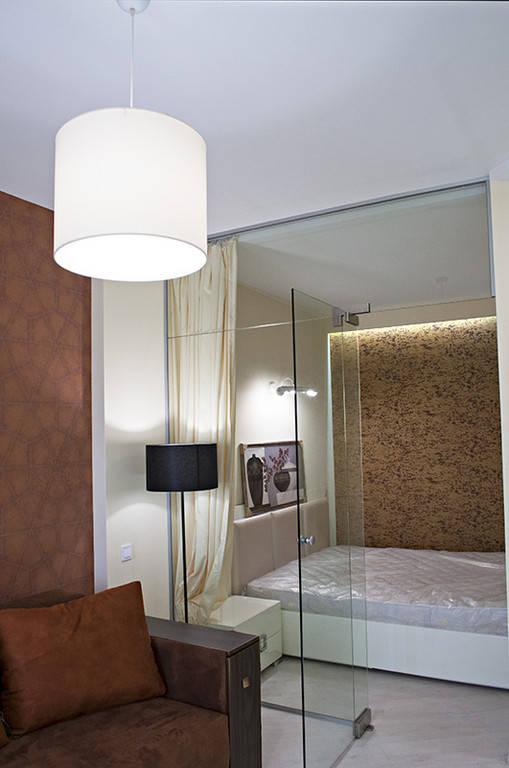 Выполнен ремонт 1-к квартиры по дизайн проекту